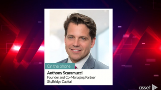 Anthony Scaramucci: U.S. Headed Toward a Steep Recession